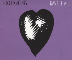 Foo Fighters - Have It All cover art