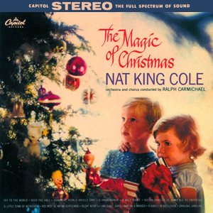 Nat King Cole - The Magic of Christmas cover art