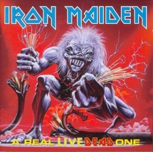 Iron Maiden - A Real Live Dead One cover art