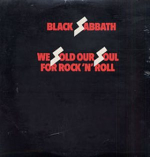 Black Sabbath - We Sold Our Soul for Rock 'n' Roll cover art