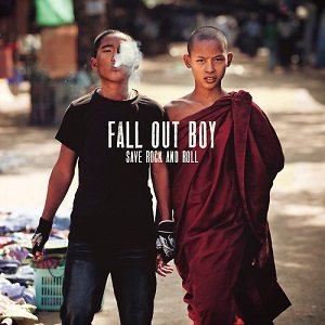 Fall Out Boy - Save Rock and Roll cover art