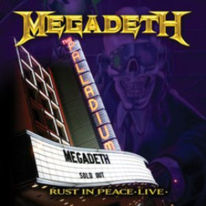 Megadeth - Rust in Peace Live cover art