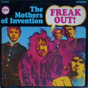 The Mothers of Invention - Freak Out! cover art