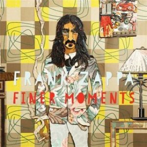 Frank Zappa - Finer Moments cover art