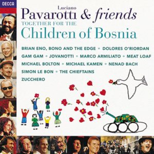 Luciano Pavarotti - Pavarotti & Friends Together for the Children of Bosnia cover art