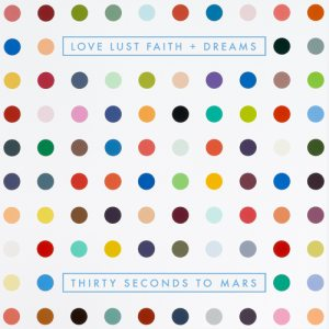 30 Seconds to Mars - Love Lust Faith + Dreams cover art
