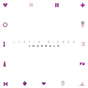Justin Bieber - Journals cover art