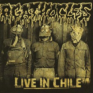 Agathocles - Live in Chile cover art