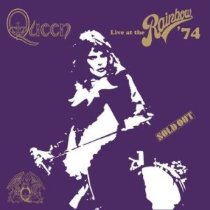 Queen - Live At the Rainbow `74 cover art