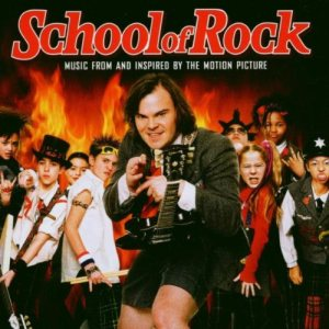 Original Soundtrack [Various Artists] - School of Rock (Music From and Inspired By the Motion Picture) cover art