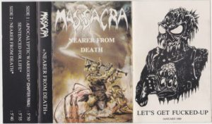 Massacra - Nearer From Death cover art