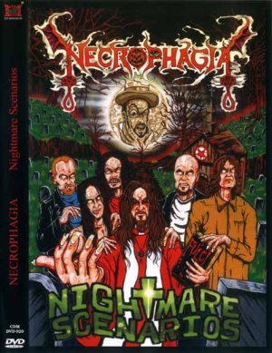Necrophagia - Nightmare Scenarios cover art