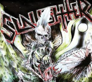 Slaughter - One Foot in the Grave cover art