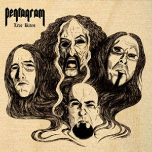 Pentagram - Live Rites cover art