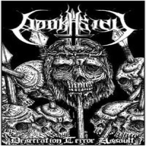 Adokhsiny - Desecration Terror Assault cover art