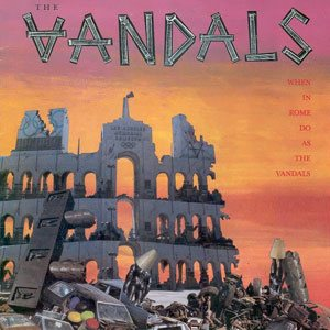 The Vandals - When in Rome Do as the Vandals cover art