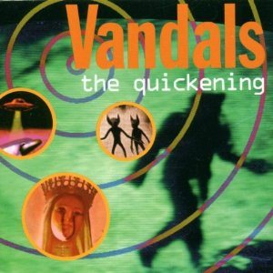 The Vandals - The Quickening cover art
