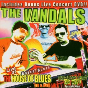 The Vandals - Live at the House of Blues cover art