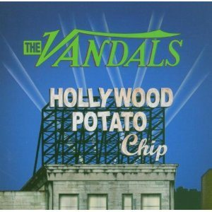 The Vandals - Hollywood Potato Chip cover art