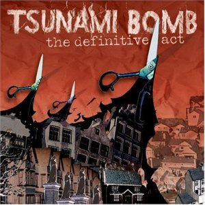 Tsunami Bomb - The Definitive Act cover art