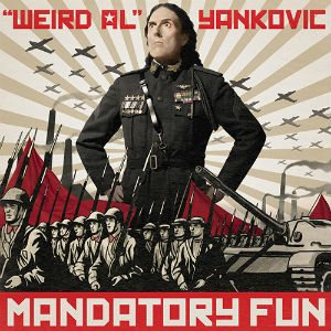 """Weird Al"" Yankovic - Mandatory Fun cover art"