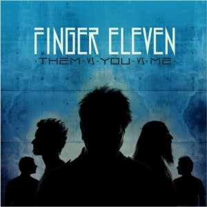 Finger Eleven - Them VS You VS Me cover art