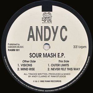 Andy C - Sour Mash E.P. cover art