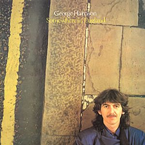 George Harrison - Somewhere in England cover art