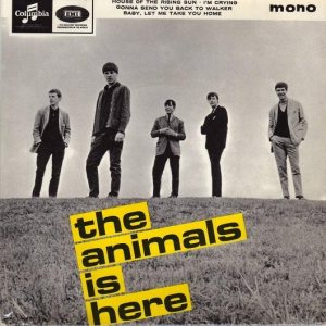 The Animals - The Animals Is Here cover art