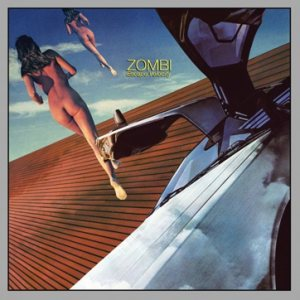 Zombi - Escape Velocity cover art