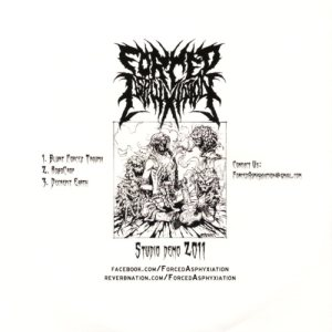 Forced Asphyxiation - Studio Demo 2011 cover art