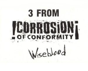 Corrosion of Conformity - 3 from Wiseblood cover art