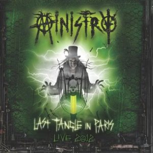 Ministry - Last Tangle in Paris - Live 2012 cover art