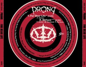 Prong - For Dear Life cover art