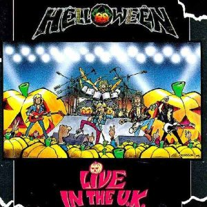 Helloween - Live in the U.K. cover art