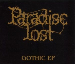 Paradise Lost - Gothic EP cover art