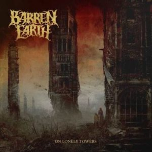 Barren Earth - On Lonely Towers cover art