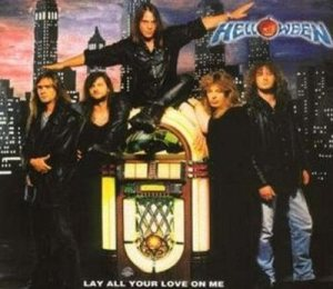 Helloween - Lay All Your Love on Me cover art