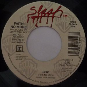 Faith No More - Epic / Falling to Pieces cover art