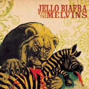 Jello Biafra / Melvins - Never Breathe What You Can't See cover art