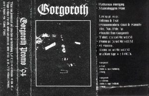 Gorgoroth - Promo '94 cover art