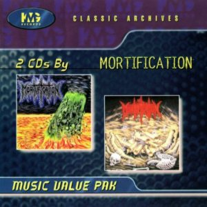 Mortification - Mortification / Scrolls of the Megilloth cover art