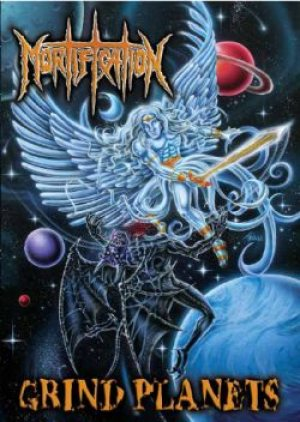 Mortification - Grind Planets cover art