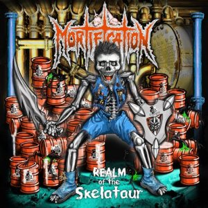 Mortification - Realm of the Skelataur cover art
