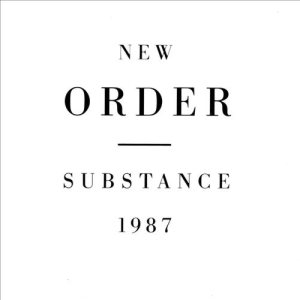 New Order - Substance 1987 cover art