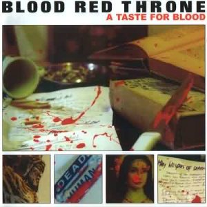 Blood Red Throne - A Taste for Blood cover art
