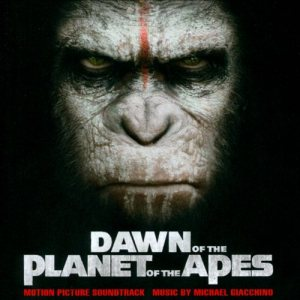 Michael Giacchino - Dawn of the Planet of the Apes cover art