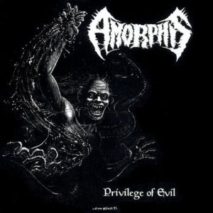 Amorphis - Privilege of Evil cover art