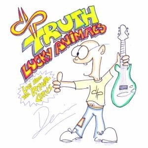 Devin Townsend Project - Lucky Animals / Truth - Live from the Retinal Circus cover art
