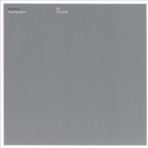 Autechre - Peel Session cover art